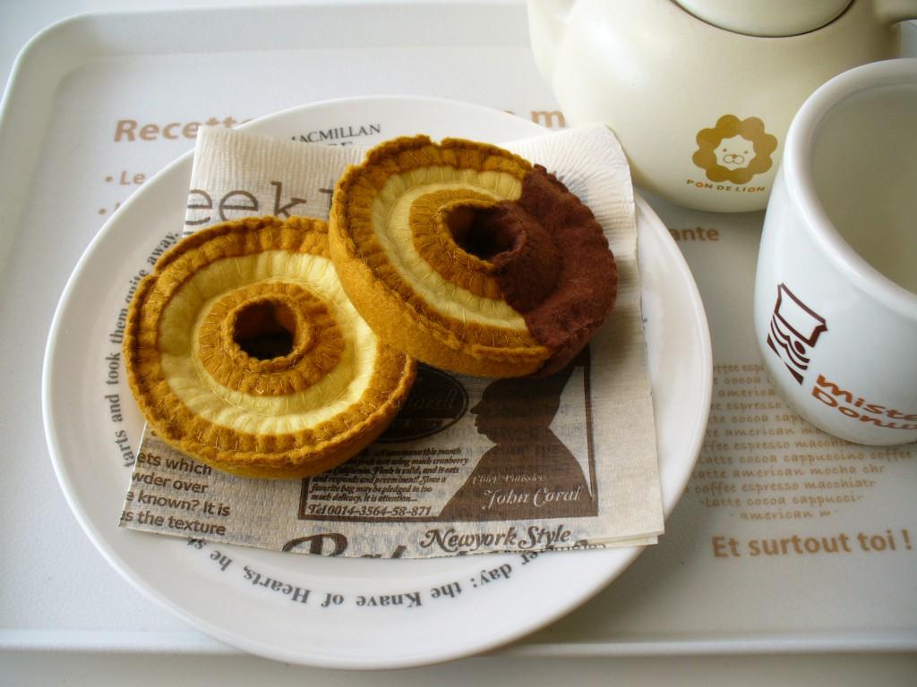 ◆◇オールドファッション*ドーナツ◇◆ プレーン&チョコ