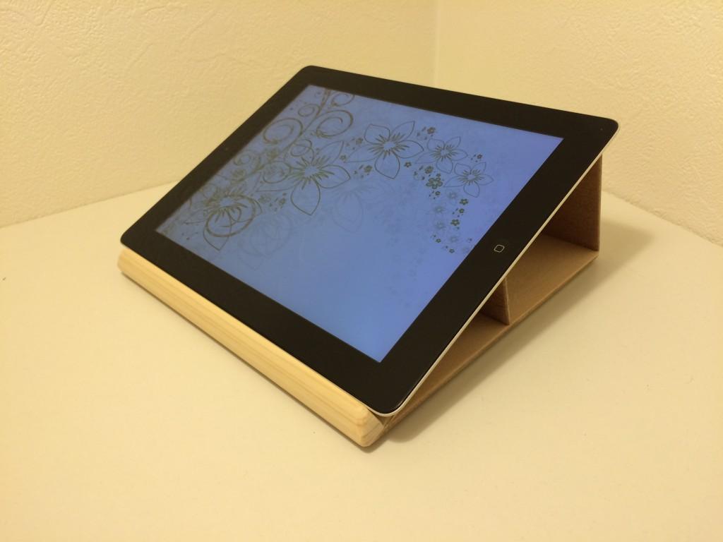 すごく安定する iPad スタンド( 書見台 )