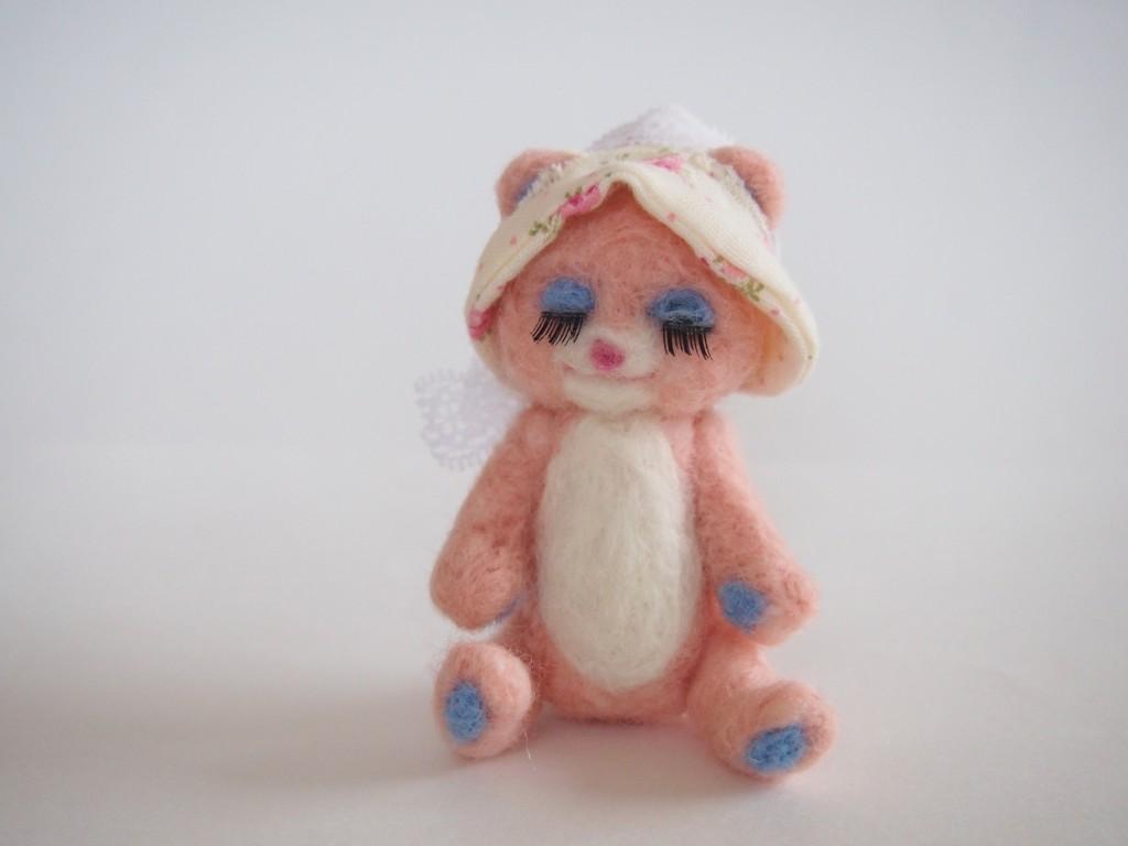 メルヘン☆レトロな夢みるピンクのくまさん
