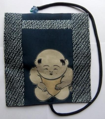 着物リメイク 絞りと羽織の裏地で作った和風財布 1006