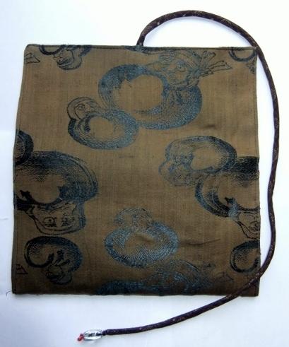 着物リメイク 羽織の裏地で作った和風財布 1058