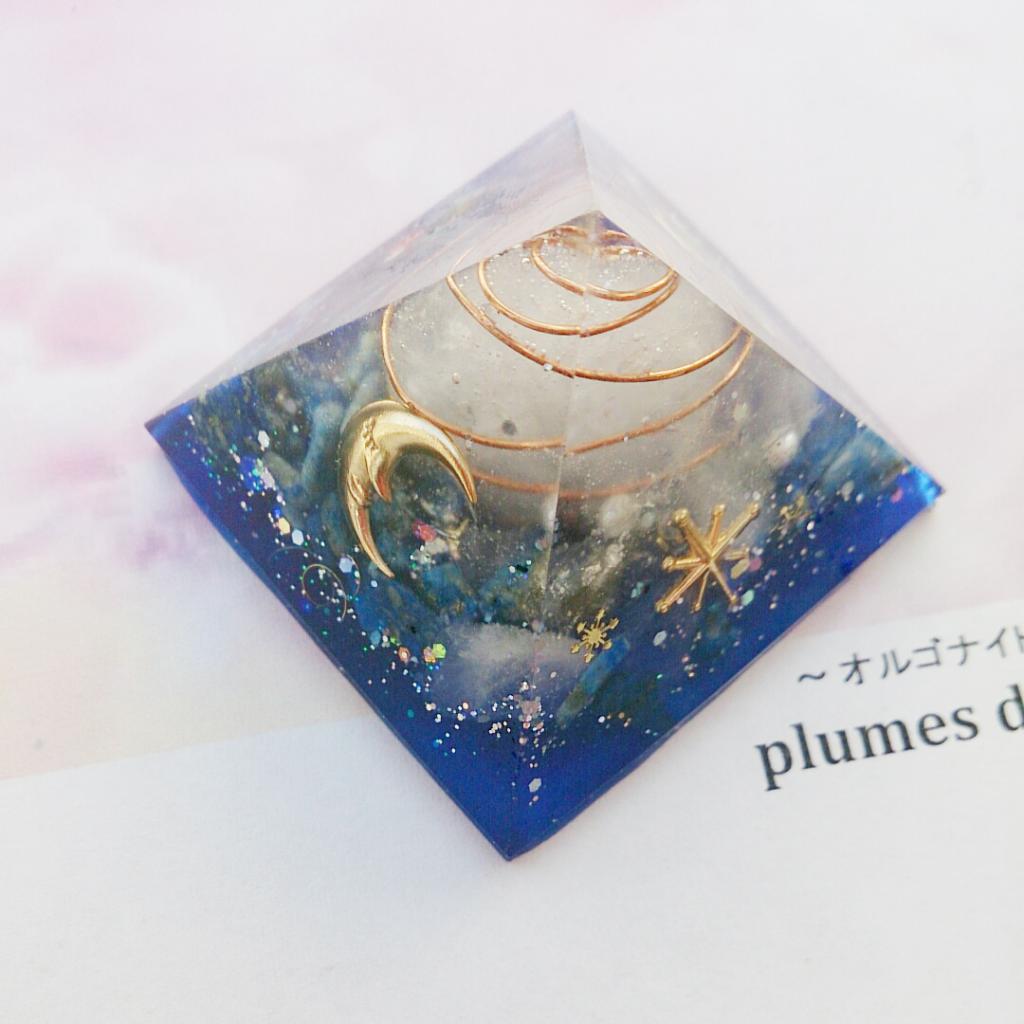 宇宙からの贈り物☆オルゴナイト☆ピラミッド