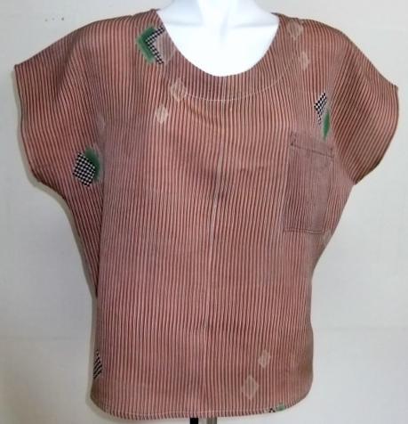 着物リメイク 正絹の着物で作ったTシャツ 1488