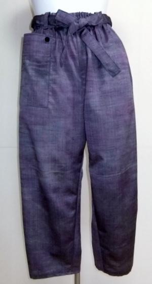 着物リメイク 着物で作ったサブリナパンツ 1680