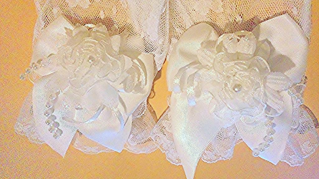 清楚で初々しい花嫁の雰囲気たっぷりウェディンググローブ・指先まで美しく・ギフトラッピング