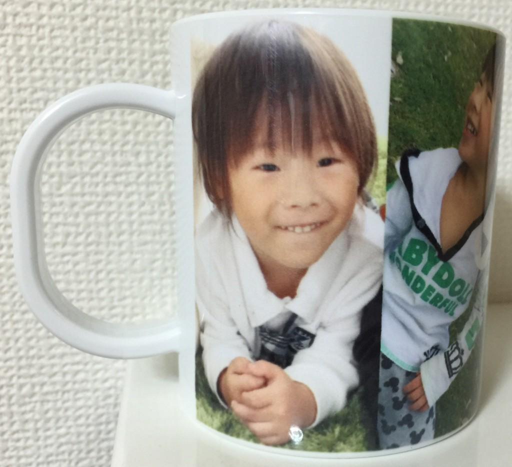 お写真画像や文字が入れられるプラスチックコップ ★幼稚園の入園グッズや卒園記念に