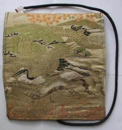 送料無料 袋帯で作った和風財布・ポーチ 2885