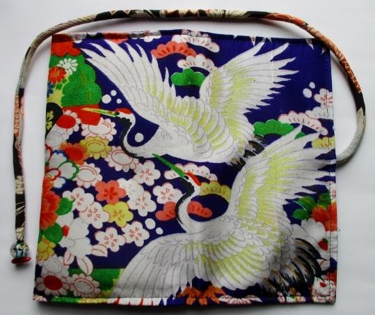 送料無料 女の子の着物で作った和風財布・ポーチ 3228