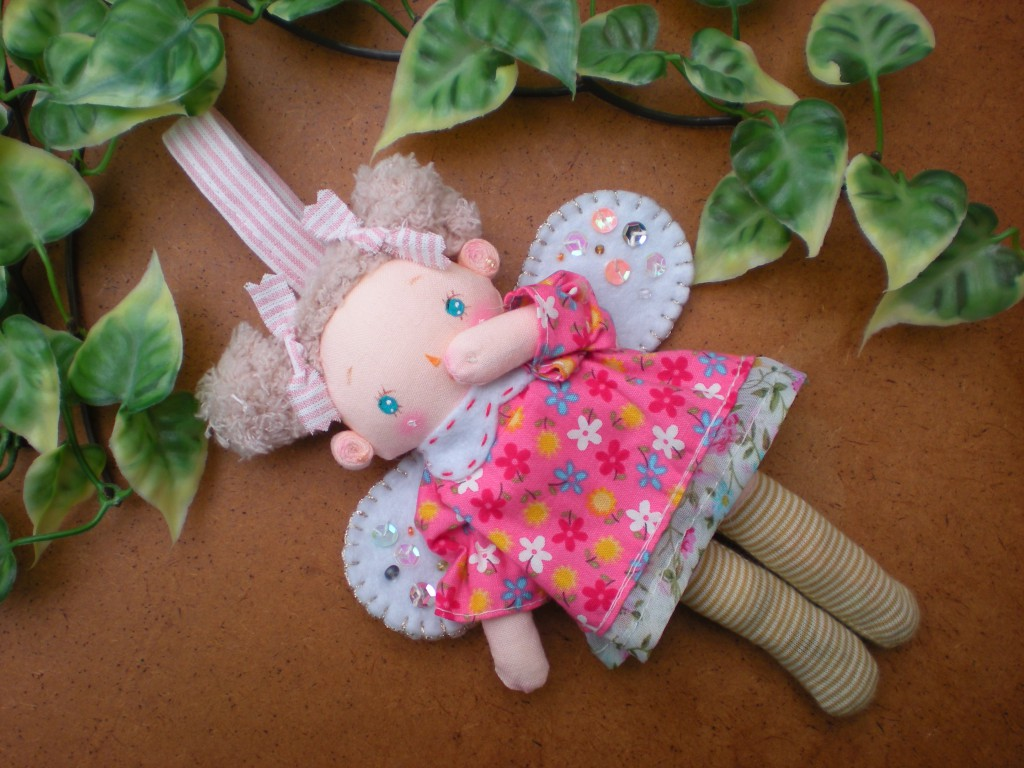 布人形 天使ちゃん