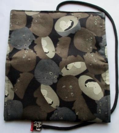 送料無料 羽織の裏地で作った和風財布・ポーチ 3400