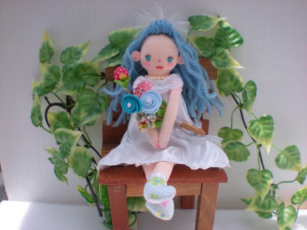 布人形花嫁ちゃん