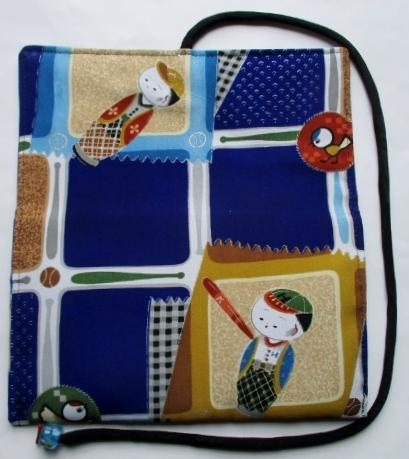 送料無料 男の子の着物で作った和風財布・ポーチ 3514
