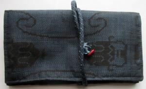 送料無料 女の子の振袖で作った和風財布・ポーチ 3618