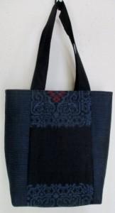 送料無料 大島紬で作った和風財布・ポーチ3771