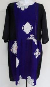 花柄の着物で作った和風財布・ポーチ 3790