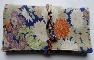 色留袖で作った和風財布・ポーチ 3792
