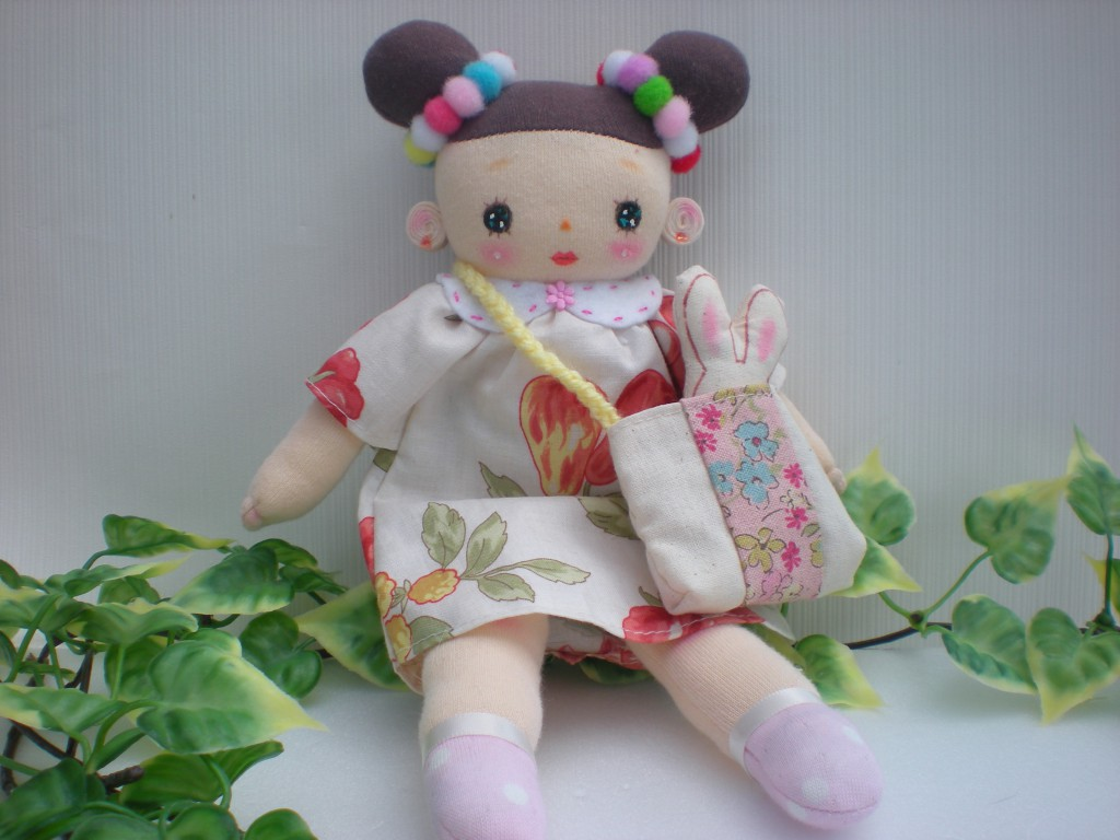 布人形 おだんごちゃん