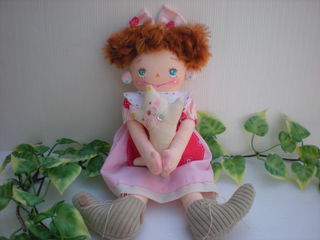 布人形 おてんばちゃん