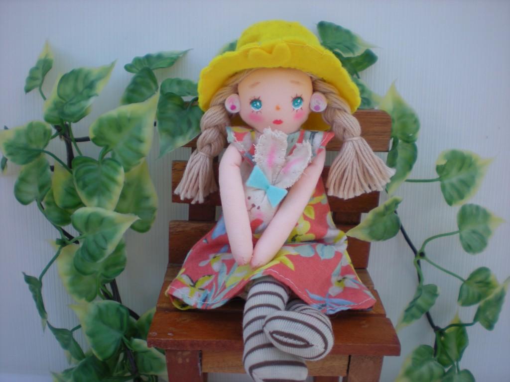 布人形 おでかけしましょう♪